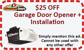 Garage door opener plus installation